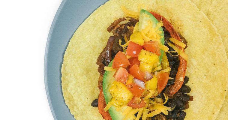Recipe Review – Black Bean Tacos with Mango Slaw