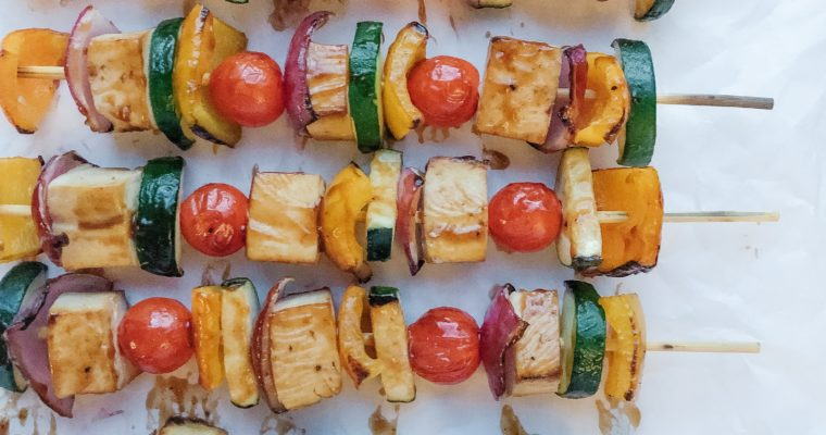 Recipe Review – Vegan Grilled Tofu Skewers