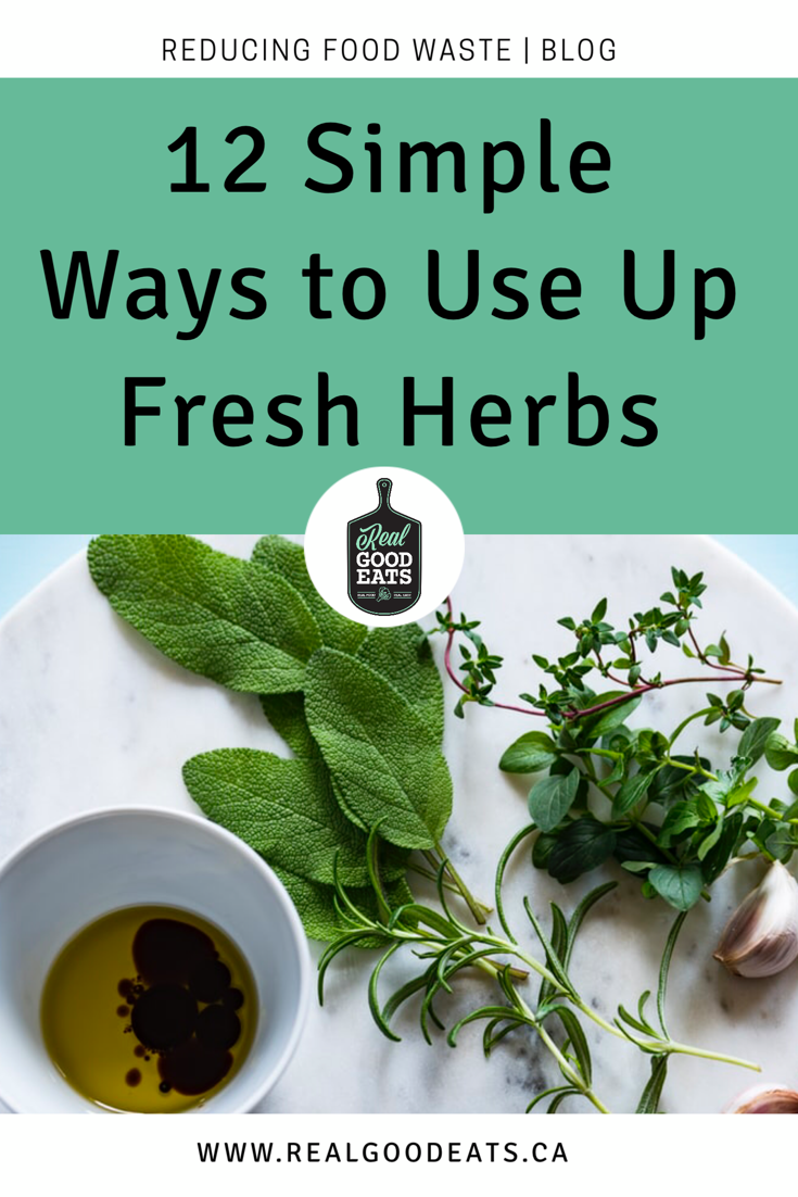 12 simple ways to use up fresh herbs