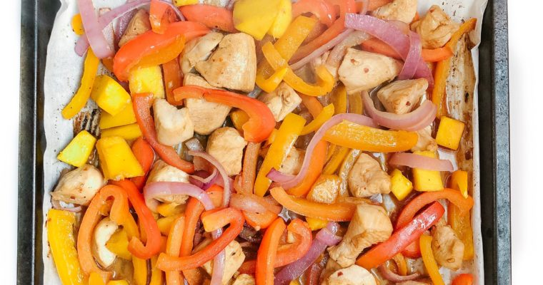 Recipe Review – Sheet Pan Chicken and Mango Stir Fry