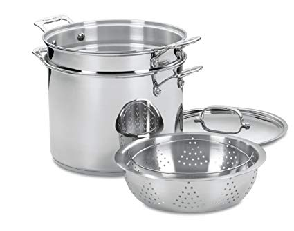 4 piece stock pot