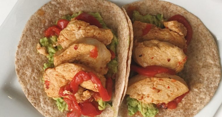 Recipe Review – Spicy Chicken and Avocado Wraps