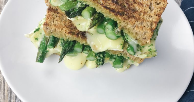 Recipe Review – Asparagus Brie Grilled Cheese