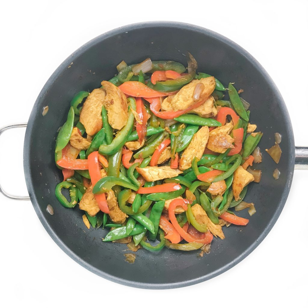 20-minute healthy dinner recipes - -minute sweet and spicy stir fry
