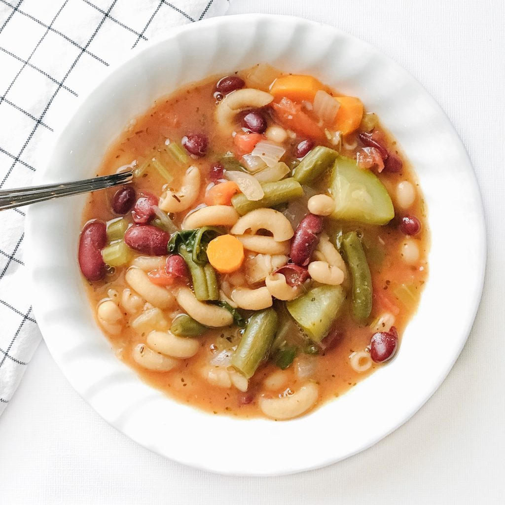 30-Minute Minestrone Soup