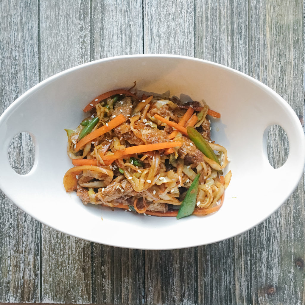 Healthy Recipes Using Cabbage - Beef and Cabbage Stir Fry