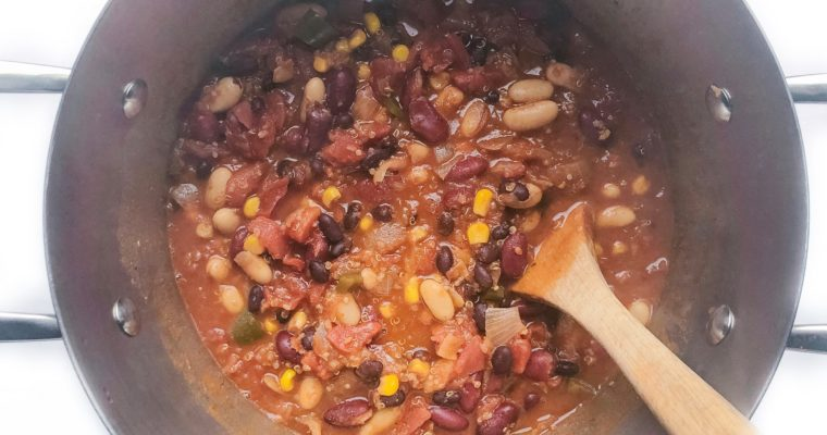 Recipe Review – Vegetarian Quinoa Chili