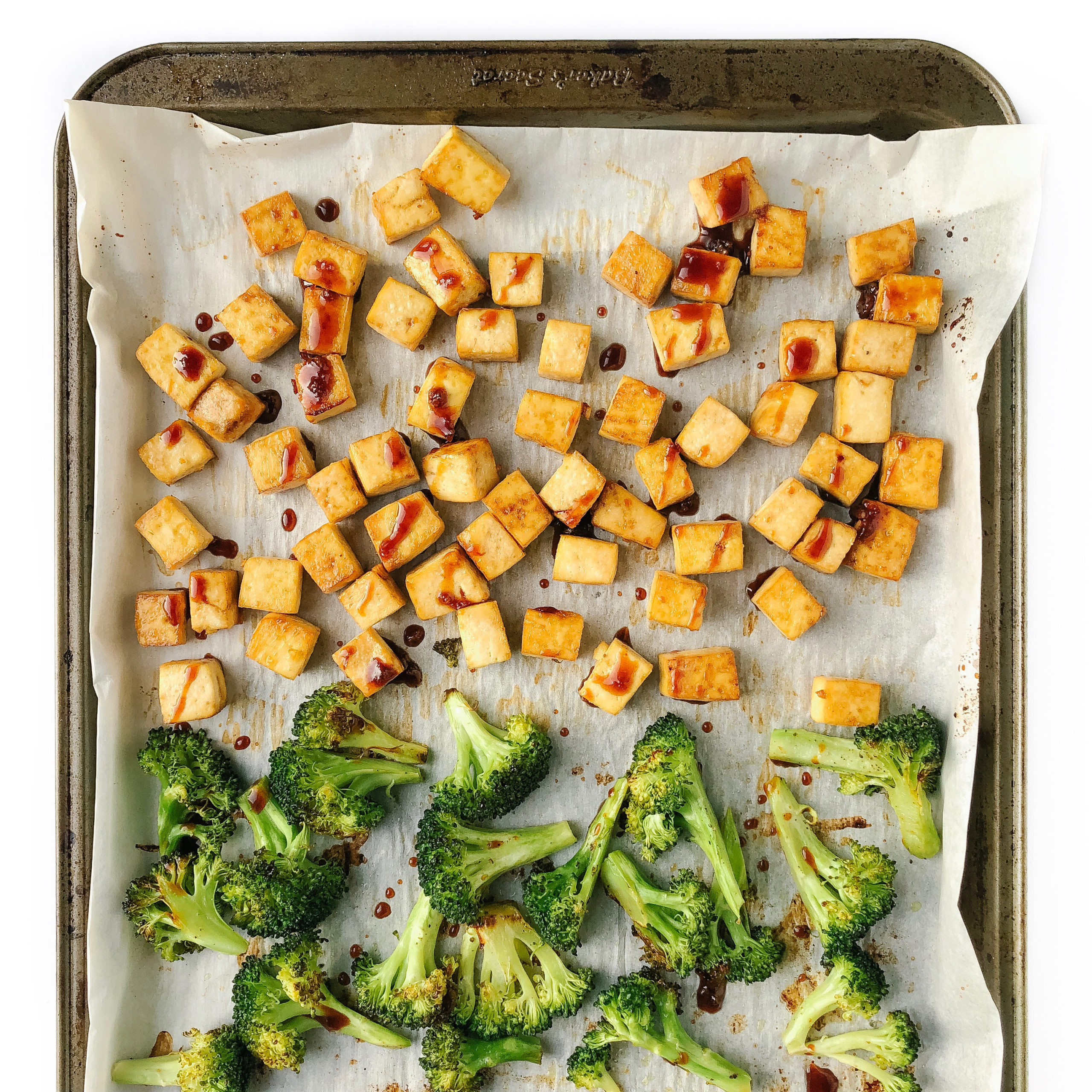 Recipe Review – Sheet Pan Crispy Teriyaki Tofu and Broccoli