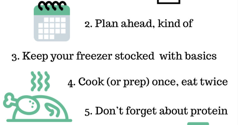 8 Tips that Make Meal Planning for one Easy