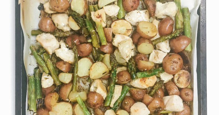Recipe Review – Sheet Pan Lemon Chicken and Asparagus