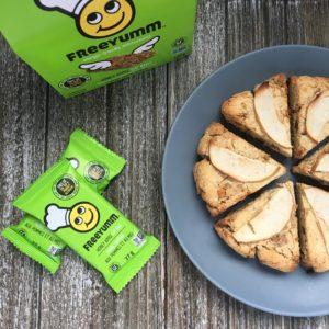 allergen free apple cinnamon scones