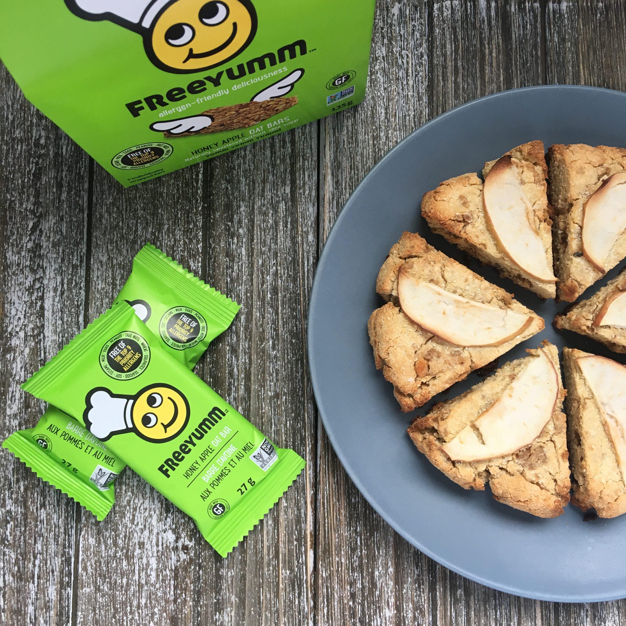 3 Allergen Free Snack Recipes Using FreeYumm Bars