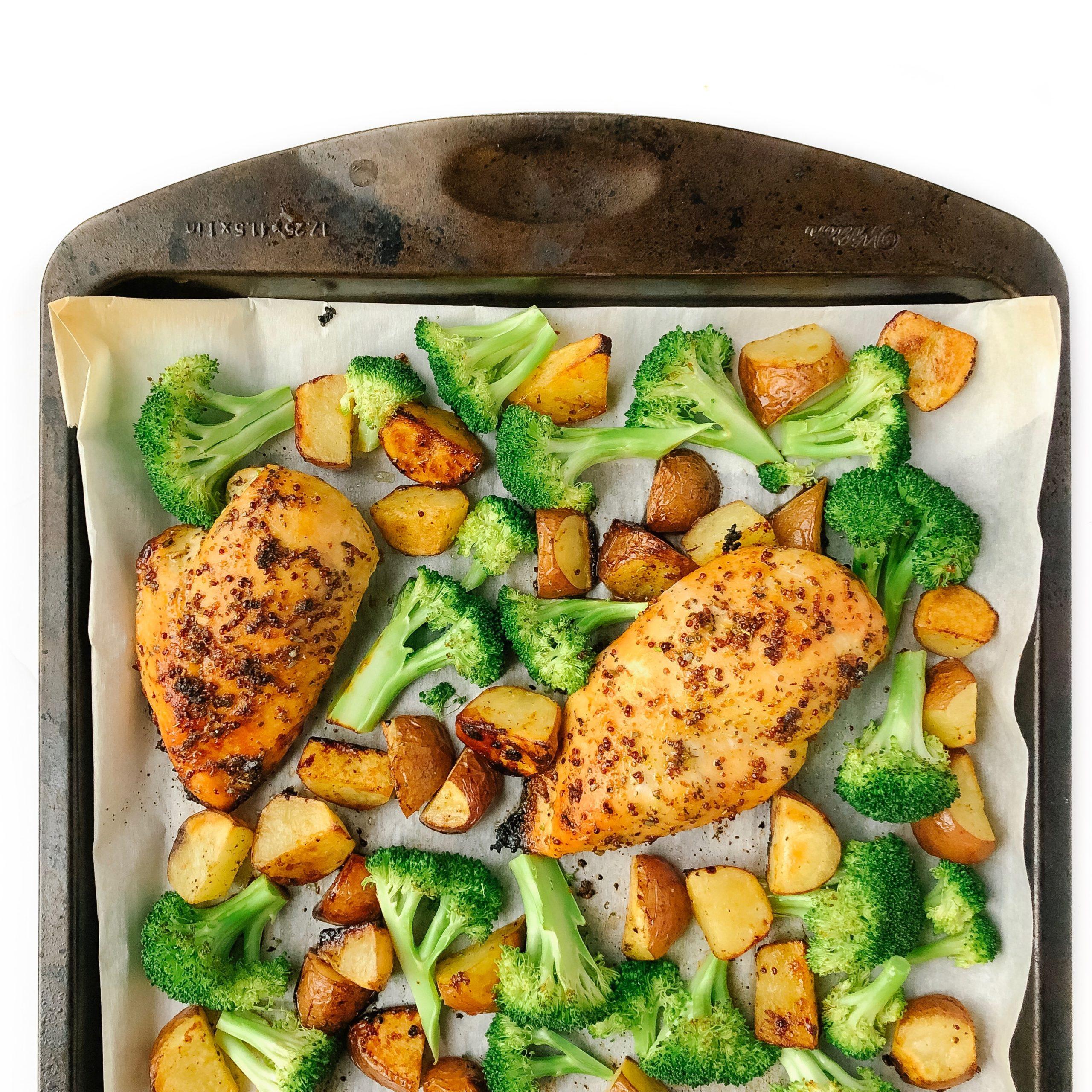 Recipe Review – One Pan Honey Garlic Chicken and Veggies