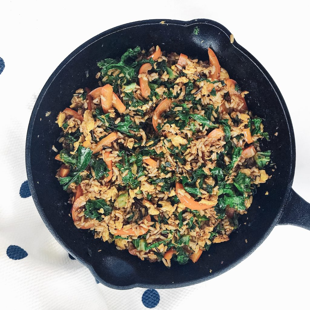 20-Minute Spicy Kale and Coconut Stir Fry