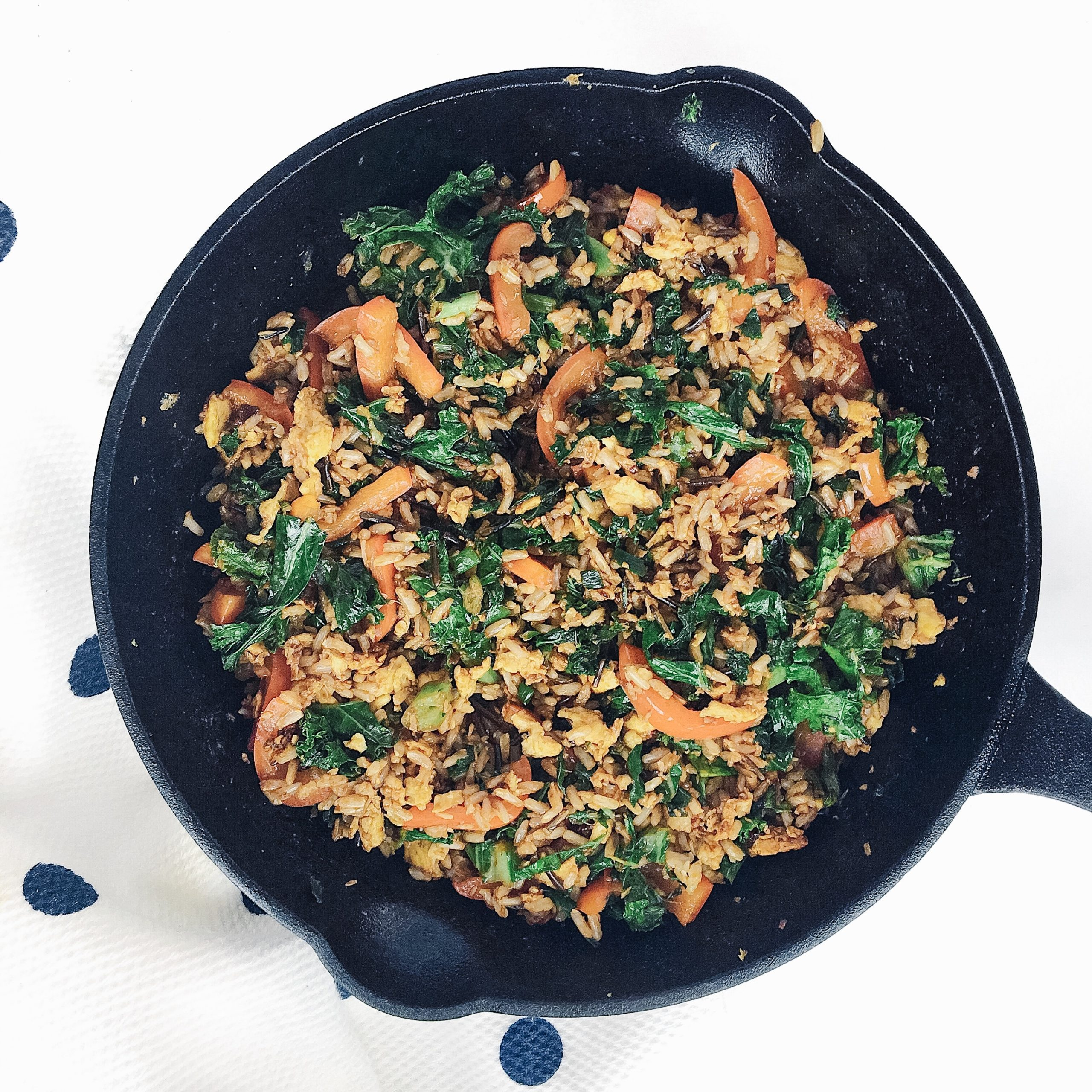 Recipe Review – Spicy Kale Coconut Stir Fry