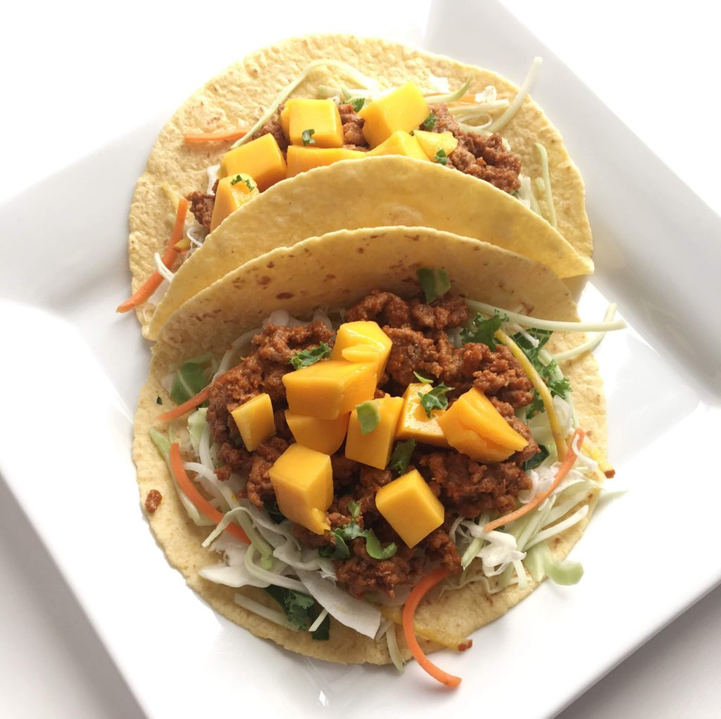 meal-worthy tacos - thai peanut beef tacos