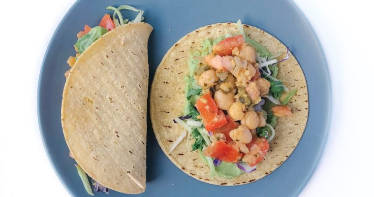 Recipe Review – Chickpea Tacos with Avocado Cream