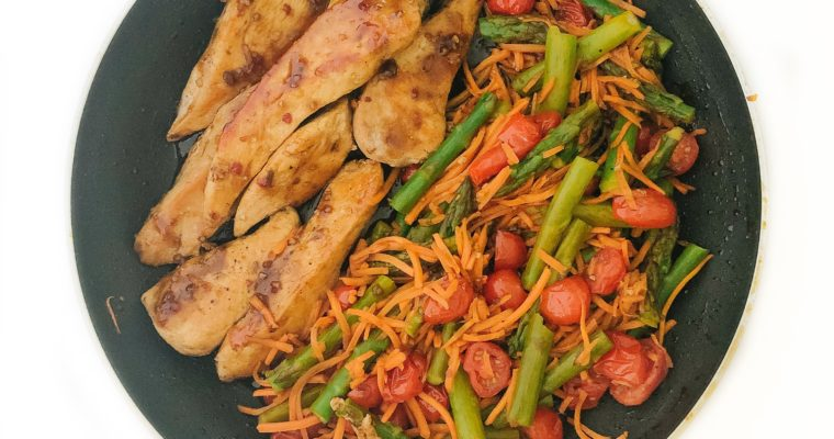 Recipe Review – One Pan Balsamic Chicken and Veggies