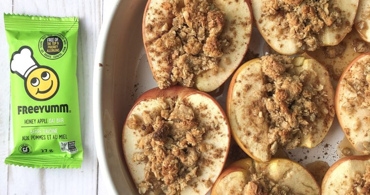 Allergen-Free Mini Baked Apple Crumbles