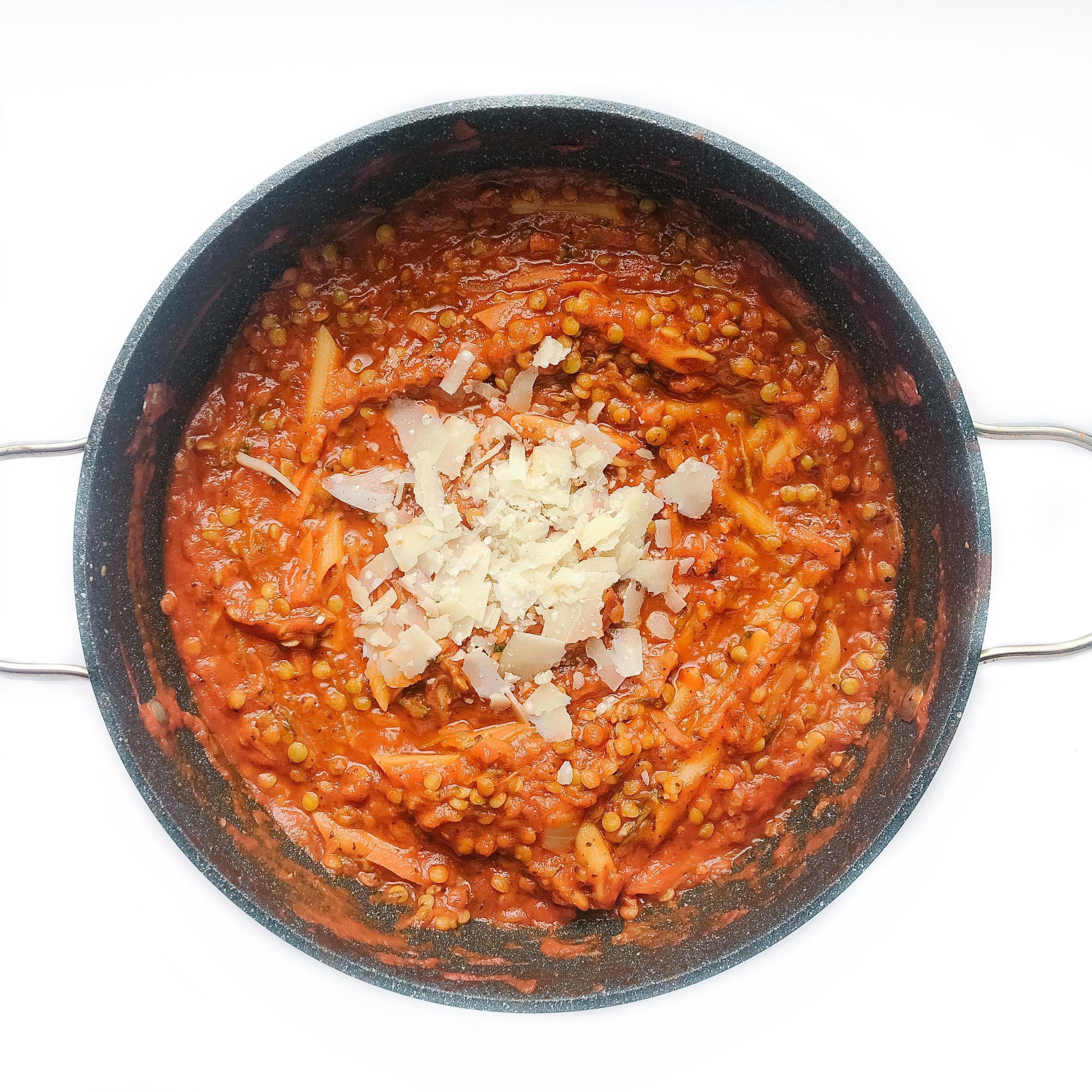 Easy One-Pan Lentil Pasta Recipe
