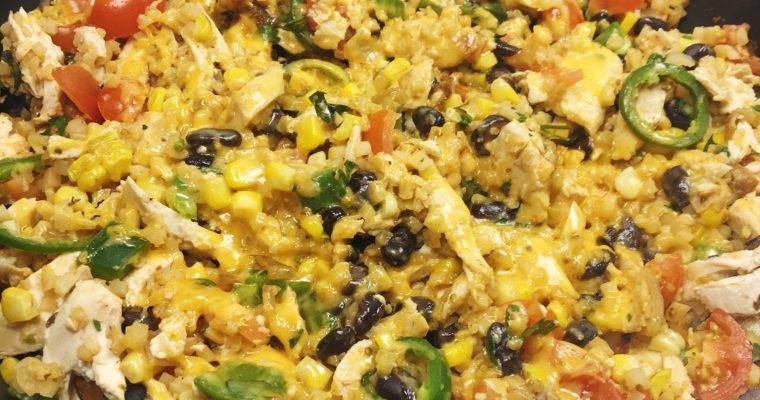 Recipe Review – Cheesy Tex-Mex Chicken and Cauli Rice