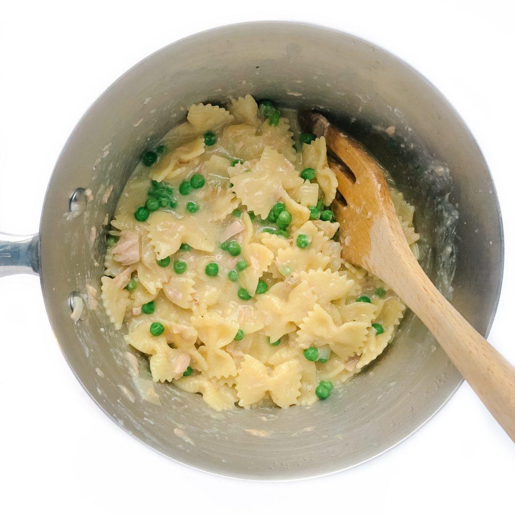 Creamy Tuna Pasta