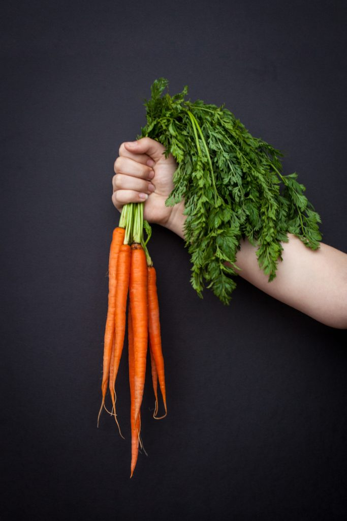 10 Ways to Use Food Scraps and Reduce Waste - carrot greens