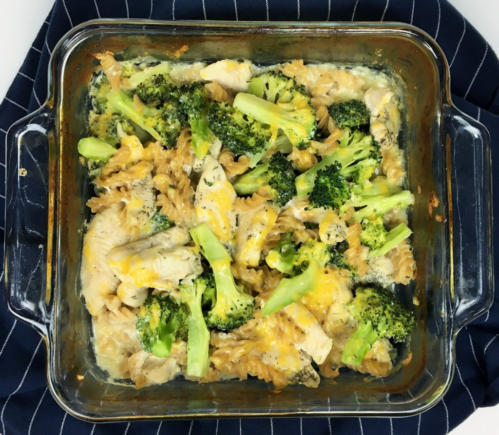 healthy weeknight pasta recipes - Lazy healthy chicken broccoli pasta ba