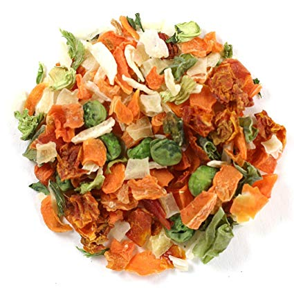 ways to use food scraps- dehydrated vegetables