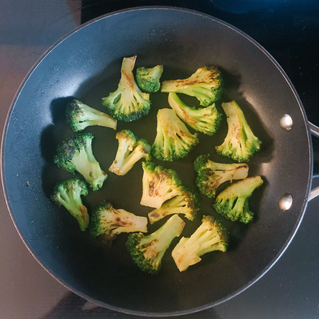 how to cook frozen broccoli - stove top