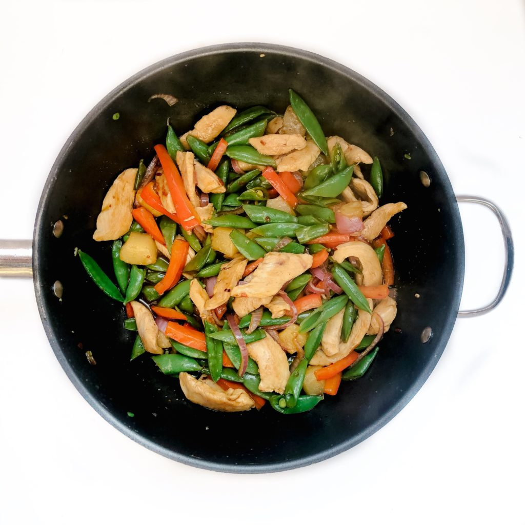 Easy 20-minute sweet chili stir fry
