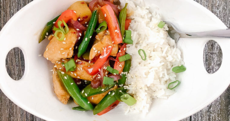 Easy 20-Minute Sweet Chili Stir-Fry