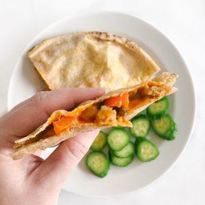 healthy pita pockets recipe