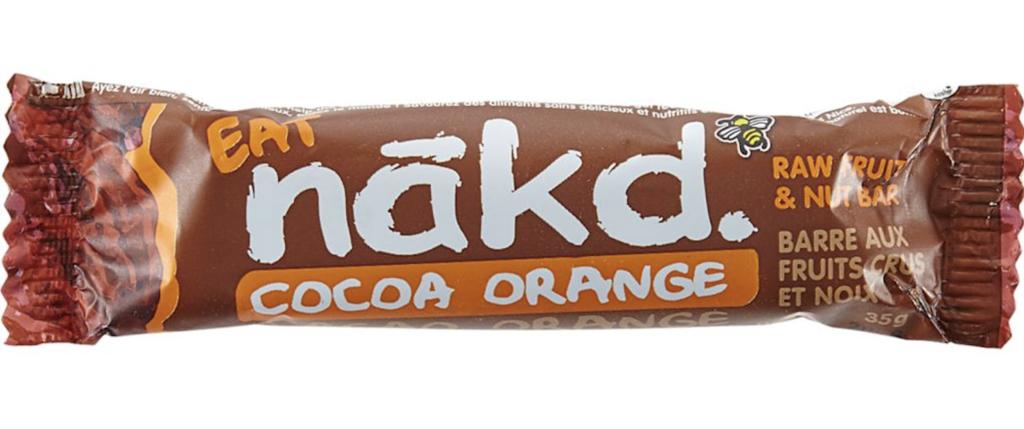 nakd bar - best pre-workout snack bars
