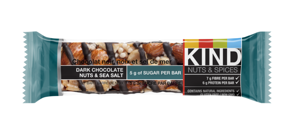 KIND bar - best healthy snack bars