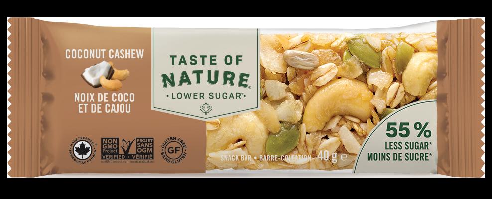 taste of nature snack bar