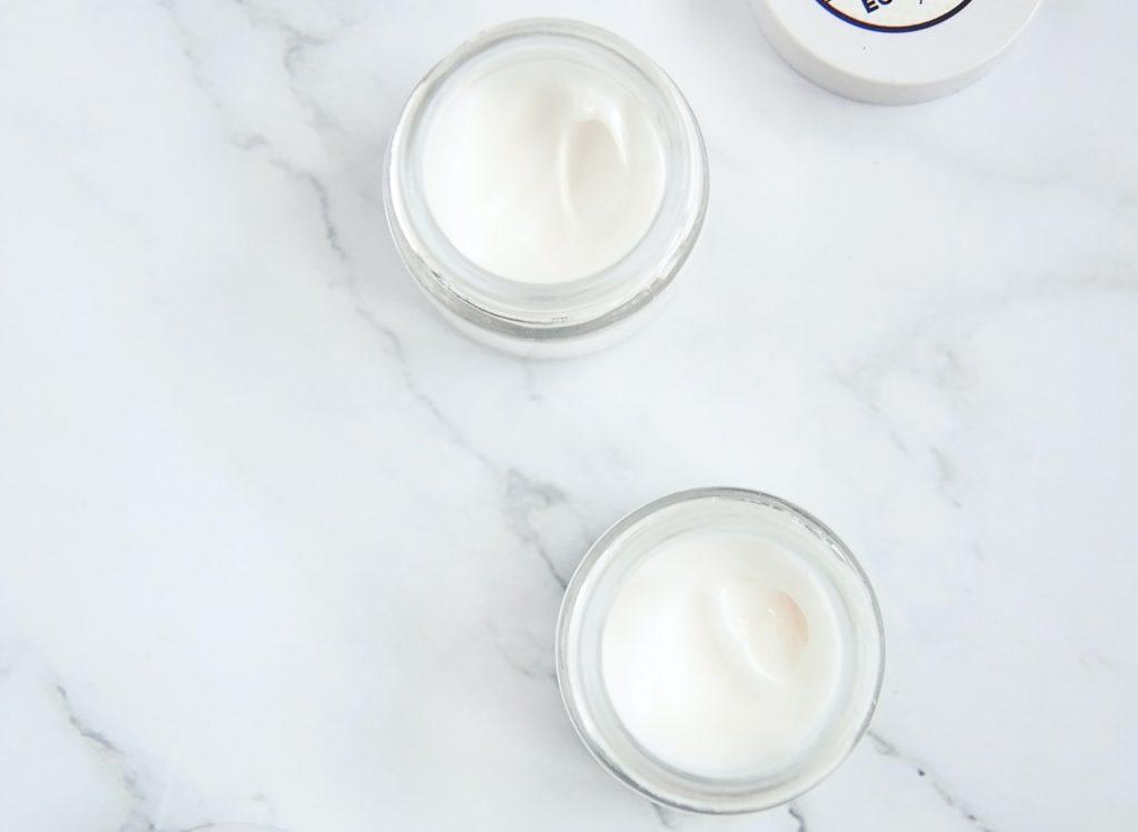 yogurt on marble surface