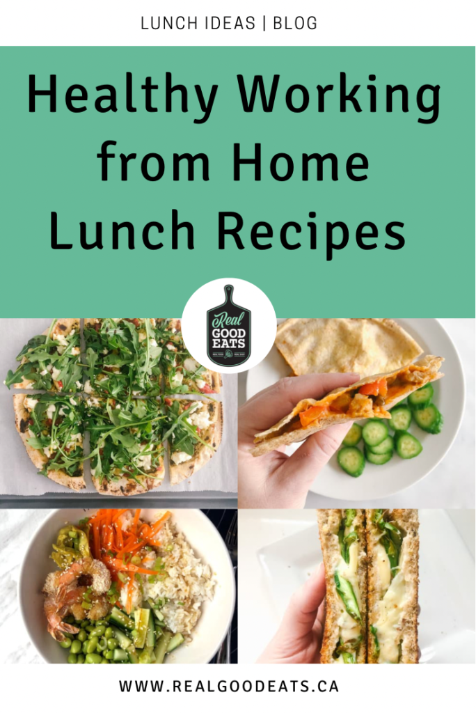 healthy working fro home lunch recipes