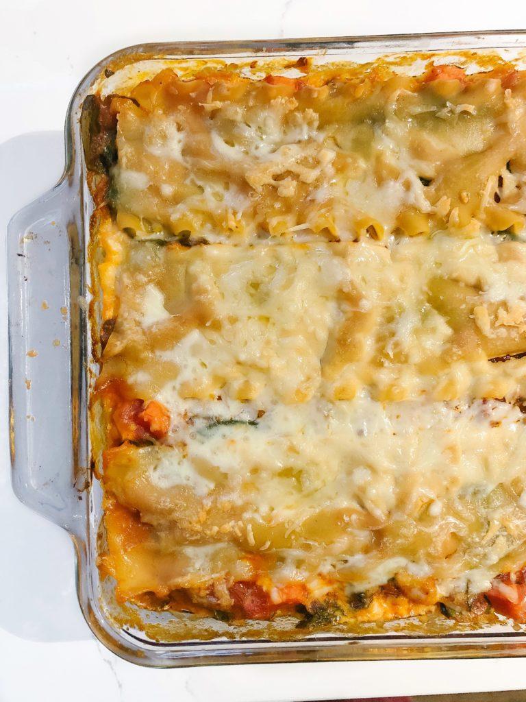 chicakpea lasagne noodle dietitian review