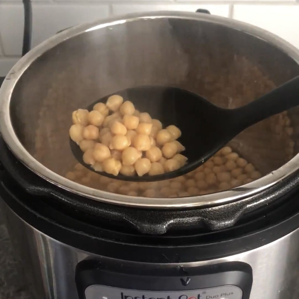 Instant pot meal prep hacks - how to cook dried chickpeas