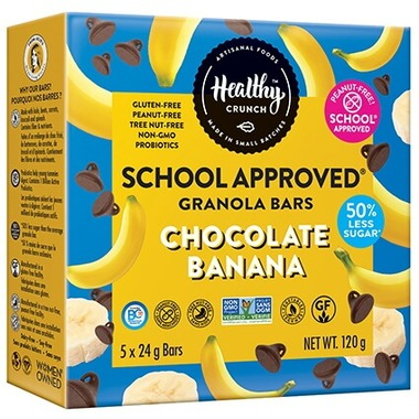 Healthy Crunch School Approved Granola Bars – Dietitian Review
