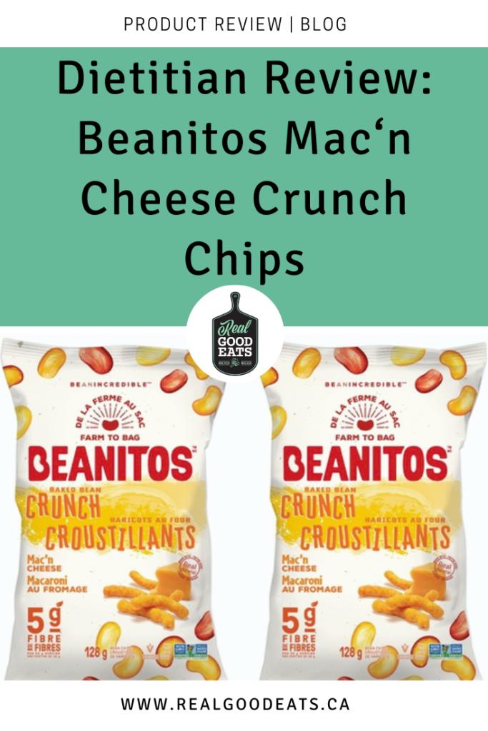 Beanitos Mac'n Cheese Crunch Chips