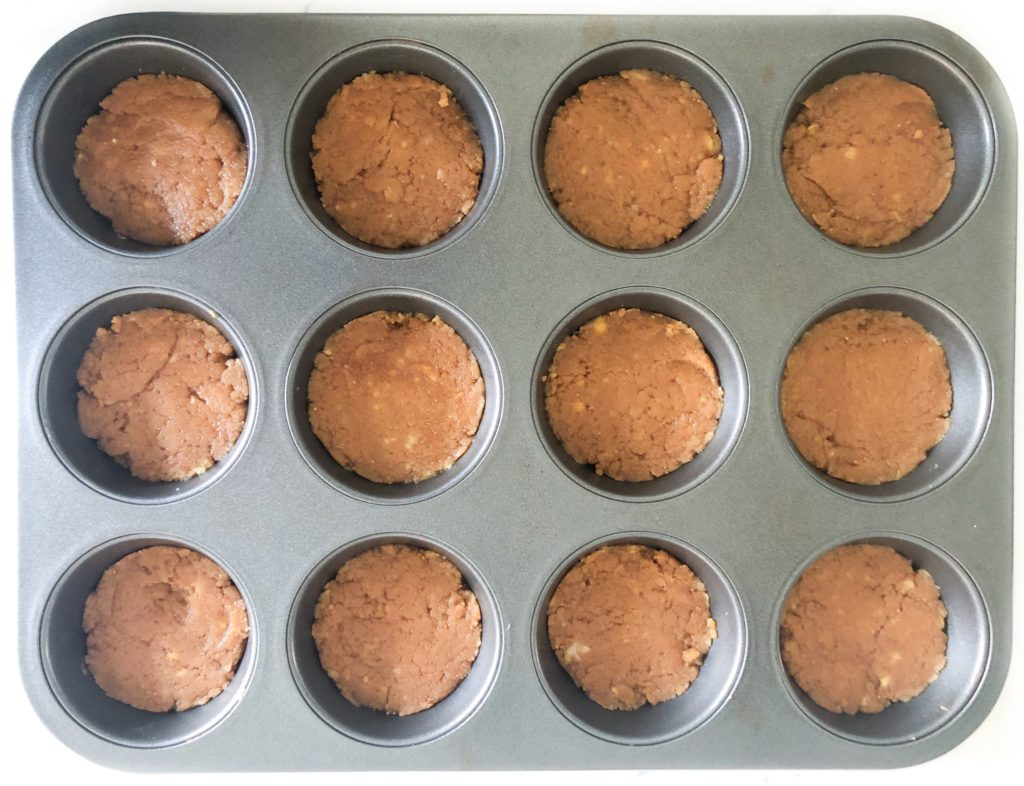 healthy chickpea peanut butter cups