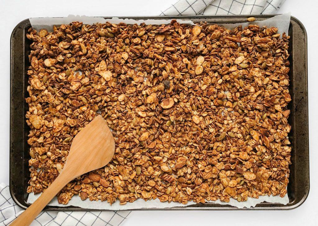 Easy High Protein Yogurt Toppings - granola