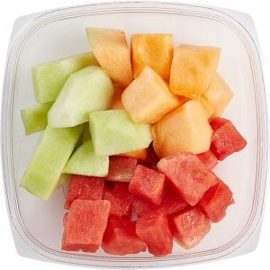 pre-cut melon